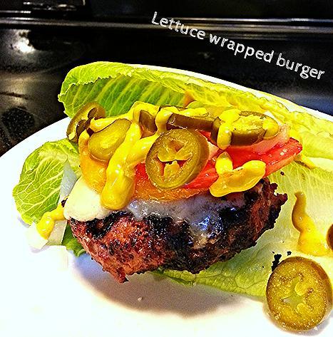 lettuce wrapped burger2